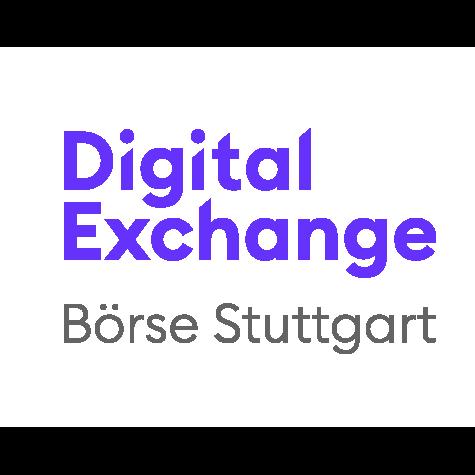 Logo der Börse Stuttgart mit ihrem Produkt: Börse Stuttgart Digital Exchange (BSDEX)